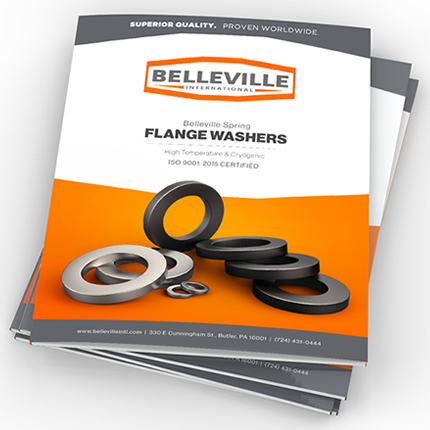 Belleville Spring Flange Washers: High Temperature & Cryogenic